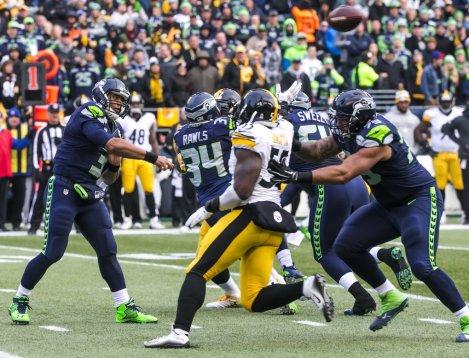 Seattle Seahawks vs. Pittsburgh Steelers NFL Football